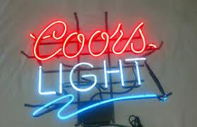 vintage coors light neon sign vintage coors light neon sign ebay