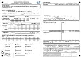 patient incident report form template incident reports a freedom of information request to borders nhs