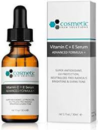 Serum Ql cosmetic skin solution vitamin c e serum combination antioxidant