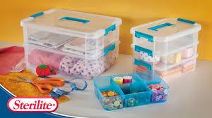 Sterilite Showoffs Storage Container - sterilite storage small storage
