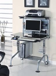 coaster l shape home office computer desk cappuccino finish base