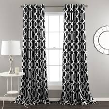 Black And Gray Curtains Trellis Design Trellis Design Curtains Best Gray Curtains Ideas