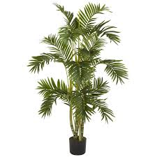 Fake Tree by 4 Foot Areca Palm Tree Potted Silk Tree And Apartments