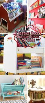 book storage kids 15 creative book storage ideas for kids hative