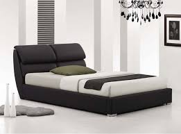 Leather Upholstered Bed Bedroom Extraordinary Upholstered Bed For Captivating Bedroom