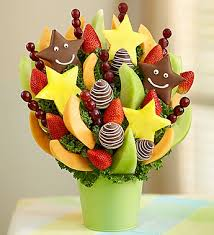 send fruit bouquet send a bunch of smiles with this sweet and satisfying fruit