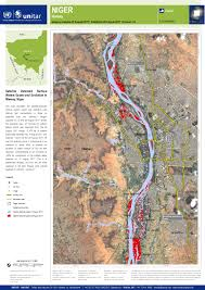 Boundary Waters Map Satellite Detected Surface Waters Extent And Evolution In Niamey