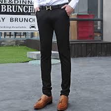 black skinny dress pants for men pants market