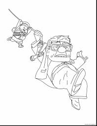 Fantastic Up Movie Characters Coloring Page With Up Coloring Pages Pin Up Coloring Pages