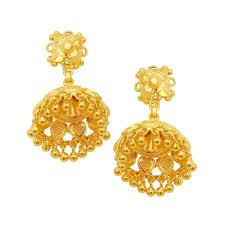 gold jhumka earrings design best gold jhumka earring designs with price at cs jewellers