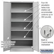 24 inch deep storage cabinets heavy duty storage cabinet standard 24 inches deep lockers com