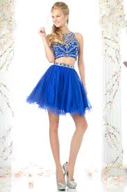 two piece homecoming dress cd975