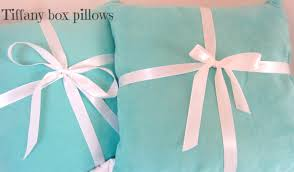 Tiffany And Co Gift Wrapping - tiffany box pillows my green gypsymy green gypsy