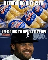 Prince Fielder Memes - mlb memes on twitter saying prince fielder is excited is an