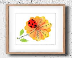 bible quote gifts talents ladybug bible verse art print scripture design hand
