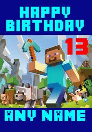 minecraft cards minecraft birthday cards gangcraft net