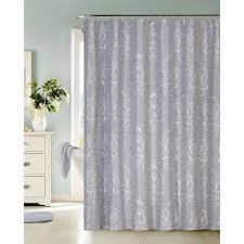 Silver Purple Curtains Silver Shower Curtains Shower Accessories The Home Depot
