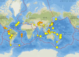 Italy Earthquake Map Tonga Kermadec Trench Chile And Florida Florida Earthquakes