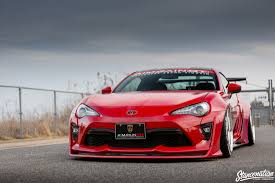 subaru brz spoiler stancenation x aimgain type 2 collaboration aero toyota 86