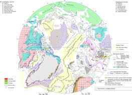 Arctic Circle Map Chapter 1 An Overview Of The Petroleum Geology Of The Arctic