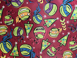 tmnt wrapping paper oceanus fancyfunfinds buy oceanus fancyfunfinds products online