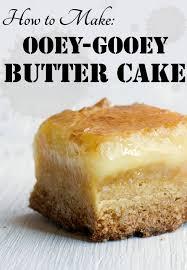 Gooey Butter Cake Recipe U0026 Variations