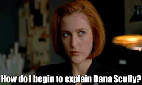 X Files Meme - 40 things we learned from the x files