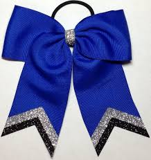 blue bows team bows