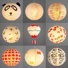 pair of childrens bedroom nursery ceiling pendant light lamp