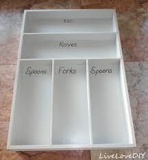 Knife And Fork Drawer Insert Organizer Kitchen Silverware Drawer Organizer Silverware