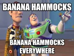 Banana Hammock Meme - livememe com toy story everywhere