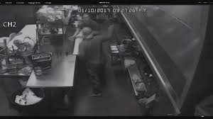 video restaurant owners survive horrific meat cleaver attack