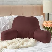bed pillow for reading reading bed pillow wayfair
