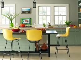 kitchen color schemes with white cabinets l shaped white painted