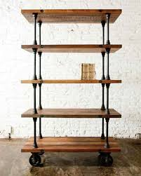 Making Wood Bookshelves by Best 25 Rolling Shelves Ideas On Pinterest Rolling Shopping