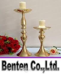 gold centerpieces gold mental flower stands wedding 30cm 48cm table