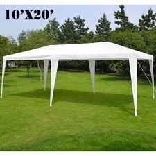 partysaving 10 x 20 outdoor gazebo easy up canopy kit wedding