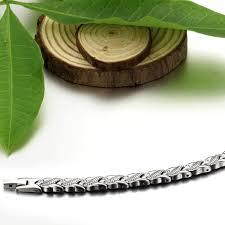 magnetic stone bracelet images Tungsten steel women 39 s health energy magnetic bracelet buycoolprice jpg