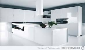 Modern White Kitchen Design Modern White Kitchen Kitchen And Decor