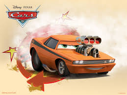 cars movie snot rod the muscle car from pixar u0027s cars movie desktop wallpaper