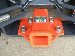 rear 2 inch receiver hitch plate for kubota bx series tractors