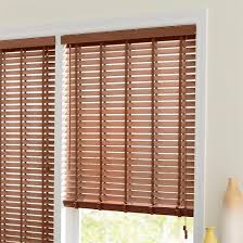 lovely wooden window blinds brown color inside or outside mounting
