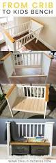How To Convert A Crib To A Toddler Bed by Best 25 Crib Makeover Ideas Only On Pinterest Painted Nursery