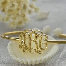 Gold Monogram Bracelet Popular Monogram Bracelet Gold Buy Cheap Monogram Bracelet Gold
