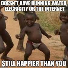 Running Kid Meme - third world success kid meme imgflip