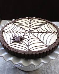 Halloween Decorations For Cakes by Spider Web Cheesecake Tart The Little Epicurean