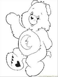 free printable coloring care bear coloring pages 1 cartoons