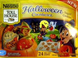 Sugar Cookie Halloween by The Holidaze Nestle Tollhouse Halloween Creatures