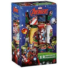 marvel 12 novelty crackers