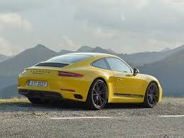 yellow porsche 911 porsche 911 carrera t 2018 pictures information u0026 specs